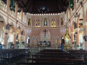 Vnútro katedrály