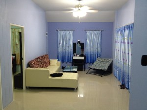 """Obývačka """"modrého domu"""""""
