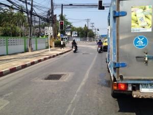 Premávka v Chanthaburi