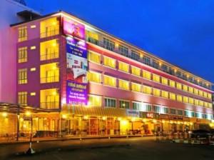 Pohľad na hotel Rachan v Chanthaburi