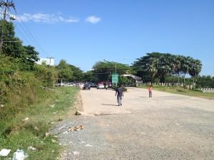 Kambodžská hranica